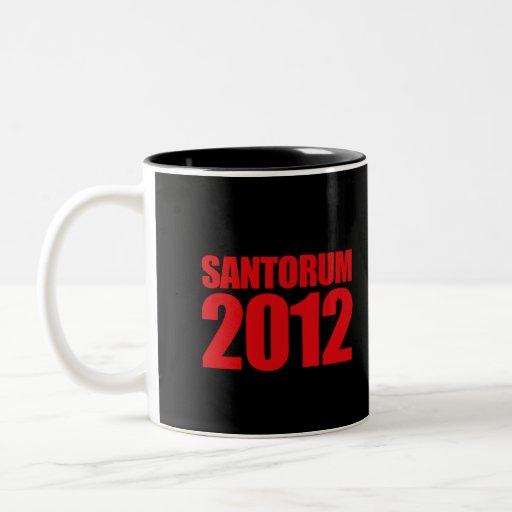 SANTORUM 2012 - TAZAS DE CAFÉ