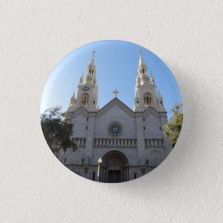 Santos Peter y botón de Pinback de la iglesia de
