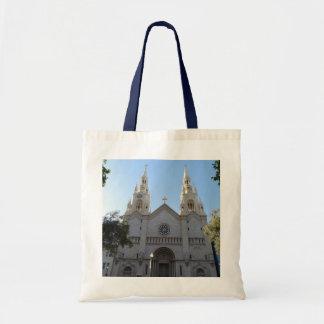 Santos Peter y la bolsa de asas de la iglesia de