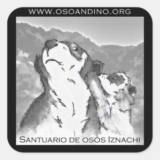 Santuario de Osos Iznachi - pegatina