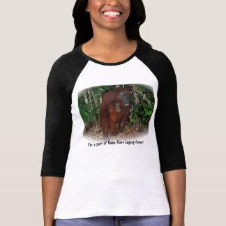 Santuario del bosque de la protección del camiseta