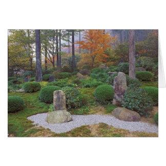 Sanzen-en el templo, Ohara, Kyoto, Japón 4 Tarjeta