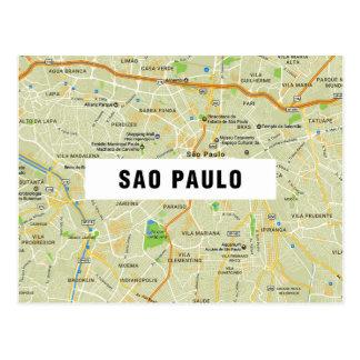 ♥ Sao Paulo de las POSTALES del MAPA