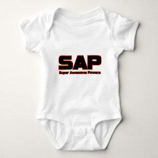 SAP - poderes impresionantes estupendos Body Para Bebé