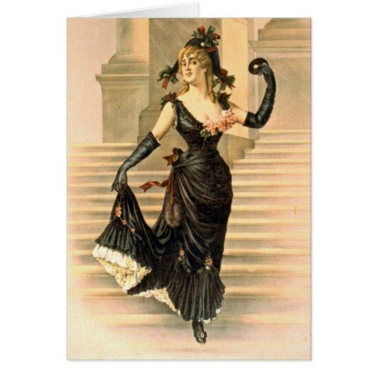 Sapho 1900 tarjeta de felicitación