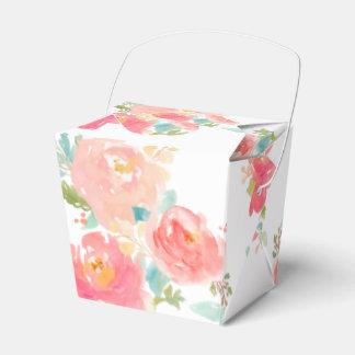 saque a caja la acuarela floral