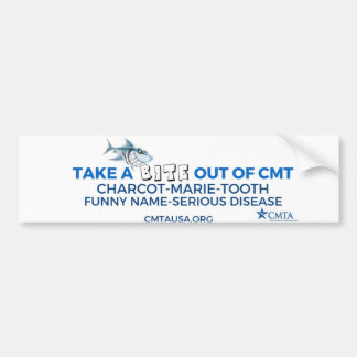 saque una mordedura de CMT Pegatina Para Coche