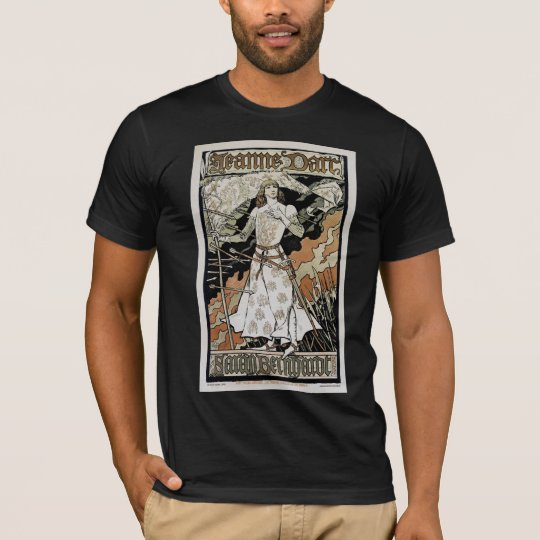 ~ Sarah Bernhardt de Jeanne D'Arc Camiseta