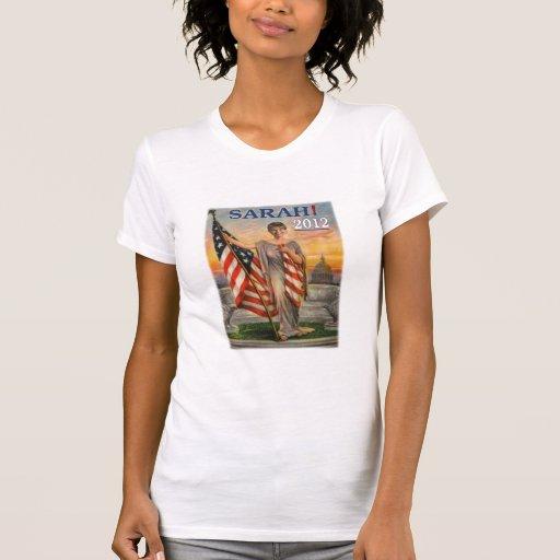 Sarah Palin como señora Liberty Tee Camiseta