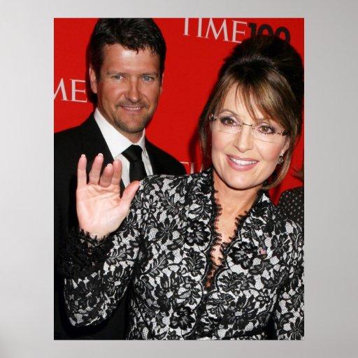 Sarah Palin y poster del revisto Time de Todd