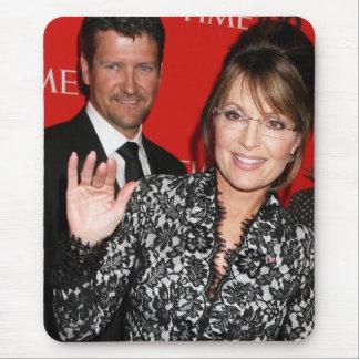 Sarah Palin y revisto Time Mousepad de Todd