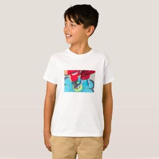 Sarah y camiseta de los muchachos de Zachy 2017