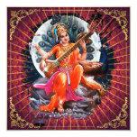 Sarasvati - la tarjeta, saludo, invita invitación personalizada