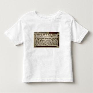Sarcófago de las musas, romano (mármol) camiseta de bebé