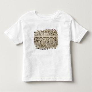 Sarcófago de las musas, romano (mármol) camiseta de niño