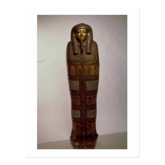 Sarcófago de Nehemes Mentou, sacerdote del Amon, E Tarjetas Postales
