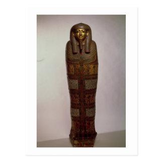 Sarcófago de Nehemes Mentou, sacerdote del Amon, Postal