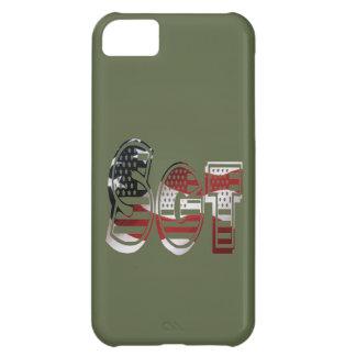 Sargento verde militar de Sgt del americano de los Funda Para iPhone 5C