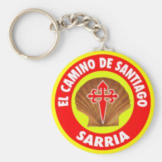 Sarria Llavero Redondo Tipo Chapa