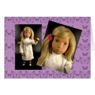 Sasha Morgenthaler muñeca tarjeta