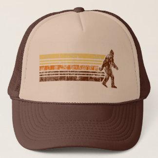 Sasquatch apenó el gorra retro del camionero del