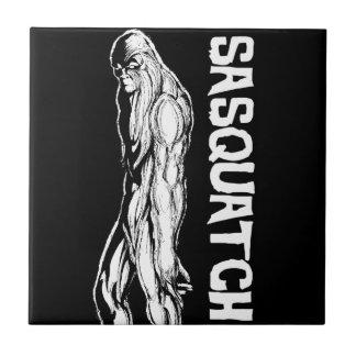 Sasquatch Azulejo De Cerámica