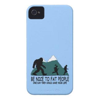 Sasquatch divertido carcasa para iPhone 4 de Case-Mate