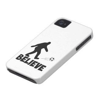 Sasquatch divertido Case-Mate iPhone 4 cárcasas