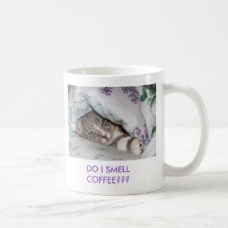 ¿Sassydog HACE CAFÉ del OLOR de I??? taza del