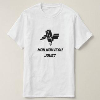 Satélite de espía con el jouet del nouveau de camiseta