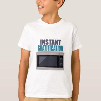 Satisfacción inmediata camiseta