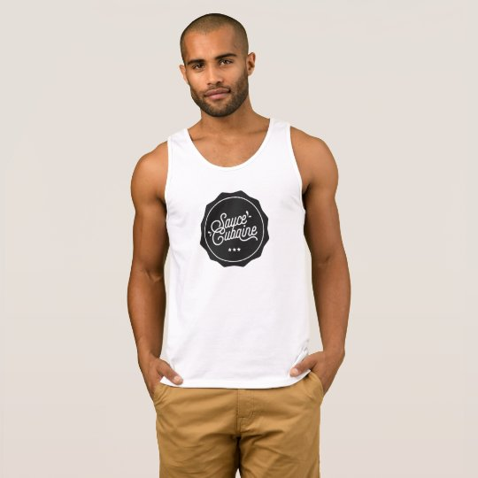 SauceCubaine black descargador - delante de Camiseta De Tirantes