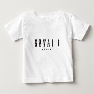 Savaii Samoa Camiseta De Bebé