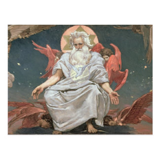 Savaoph, dios el padre, 1885-96 postal