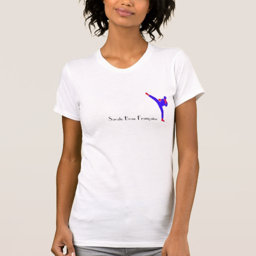 Savate Boxe Française - Compétitrice Camiseta