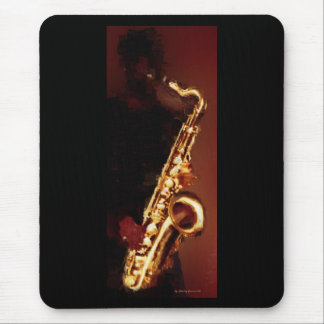 Saxofón Alfombrilla De Ratón