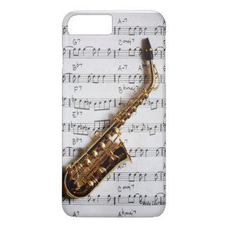 Saxofón apenas una nota funda iPhone 7 plus