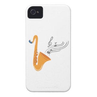Saxofón del saxofón de Saxophon Funda Para iPhone 4