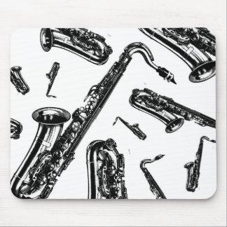 Saxofones Alfombrilla De Ratón