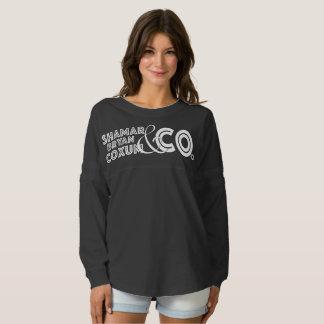 SBC&Co. X camisa del atleta de las mujeres de Camiseta Spirit
