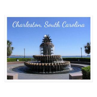 SC parque de Carolina del Sur, costa de Charleston Postal