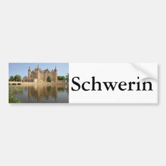 Schloss Schwerin Pegatina Para Coche