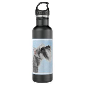 Schnauzer 3 botella de agua