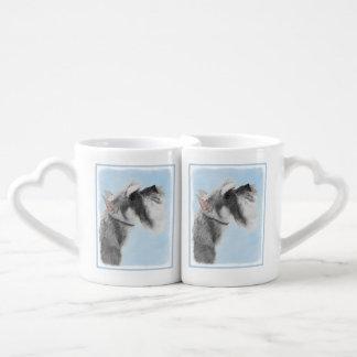 Schnauzer 3 set de tazas de café