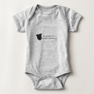 schnauzer miniatura body para bebé