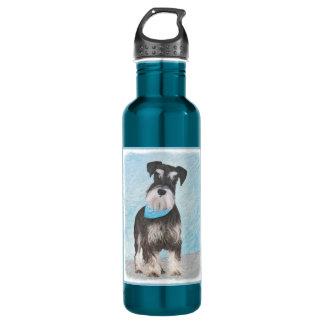 Schnauzer (miniatura) botella de agua