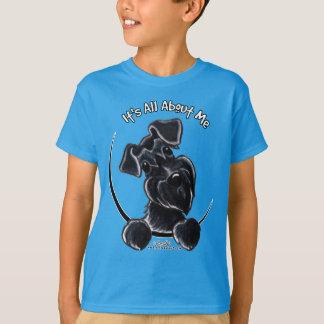 Schnauzer negro IAAM Camiseta