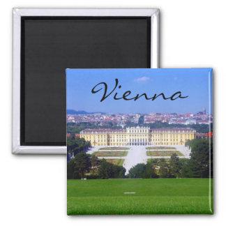 schönbrunn de Viena Imán Cuadrado