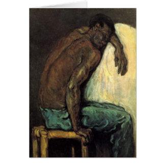 Scipio el negro de Paul Cezanne Tarjeta De Felicitación