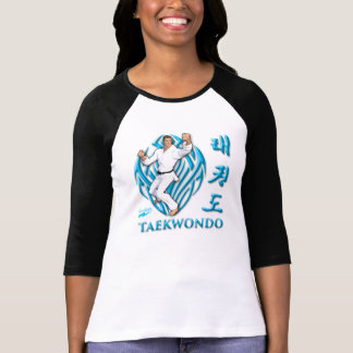 """Scolletta el """"Taekwondo"""" 3/4 raglán Camiseta"""
